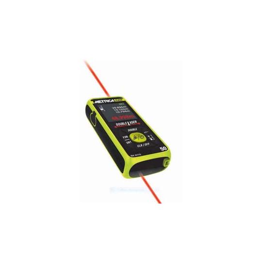 Medidor Laser Double Flash 50 Mts