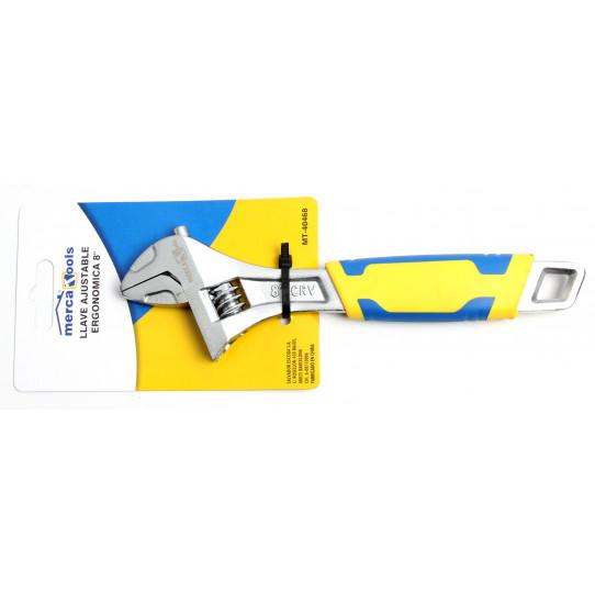 Llave ajustable ergonómica 200 mm