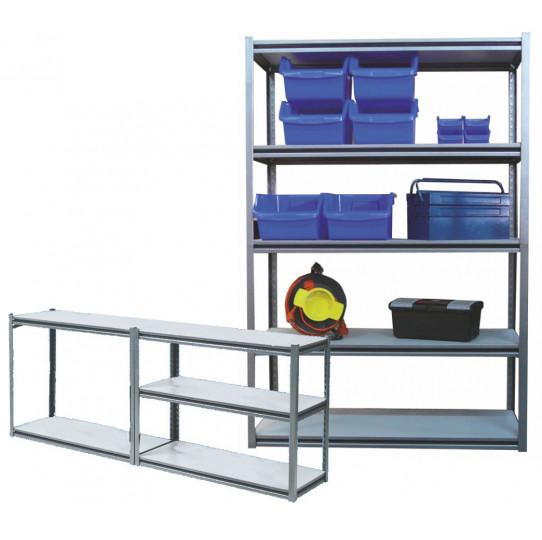 Kit estantería carga media 5 estantes...
