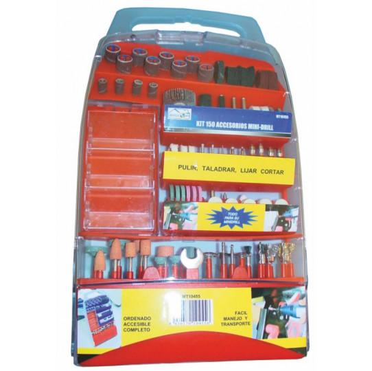 Kit 150 accesorios mini-drill