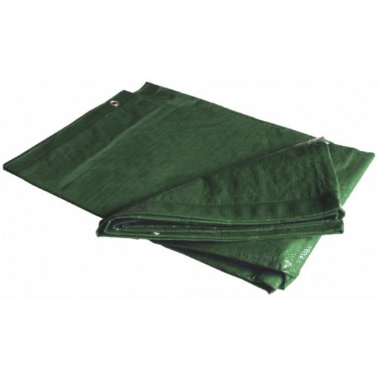 Toldo verde 3 x 5 m 80g