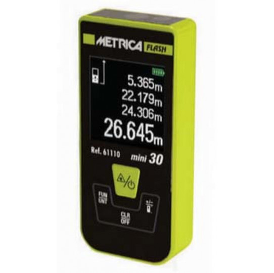 Medidor Laser Flash Mini 30 Mts