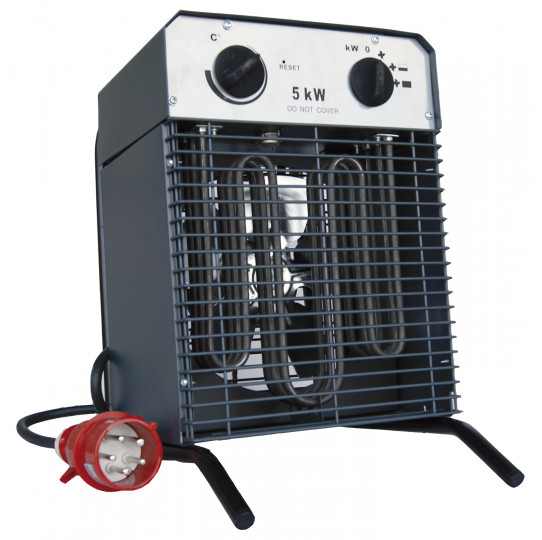 Aerotermo eléctrico aire caliente 5000W