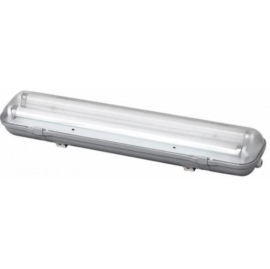 Lámpara fluorescente estanca 1 x 18W